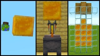 22 Minecraft Honey Block Build Hacks!