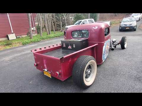 1940 Ford Ratrod Pickup For Sale~350 Mild Cam~Fresh Build~Custom Frame~Steel Body