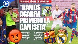 Un enregistrement audio des arbitres du Clasico fait scandale à Barcelone | Revue de presse