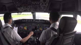 gusty ils landing at vtbd dmk runway 21r