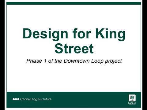 Design for Phase 1, King Street