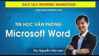 [Dự án 100] - (Số 4): Học Microsoft Word, Tin học văn phòng