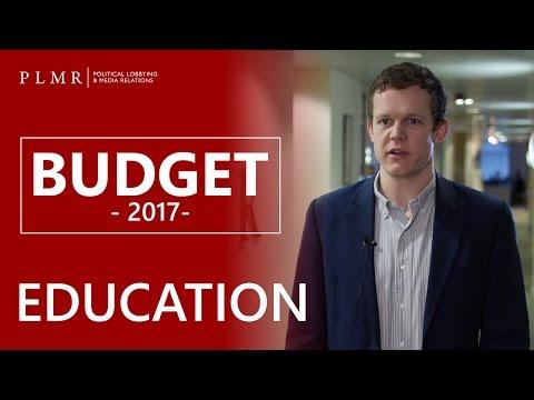 PLMR Spring Budget Analysis - Education