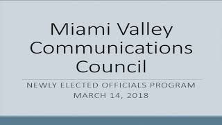 MVCC Elected Officials Welcome & Introduction