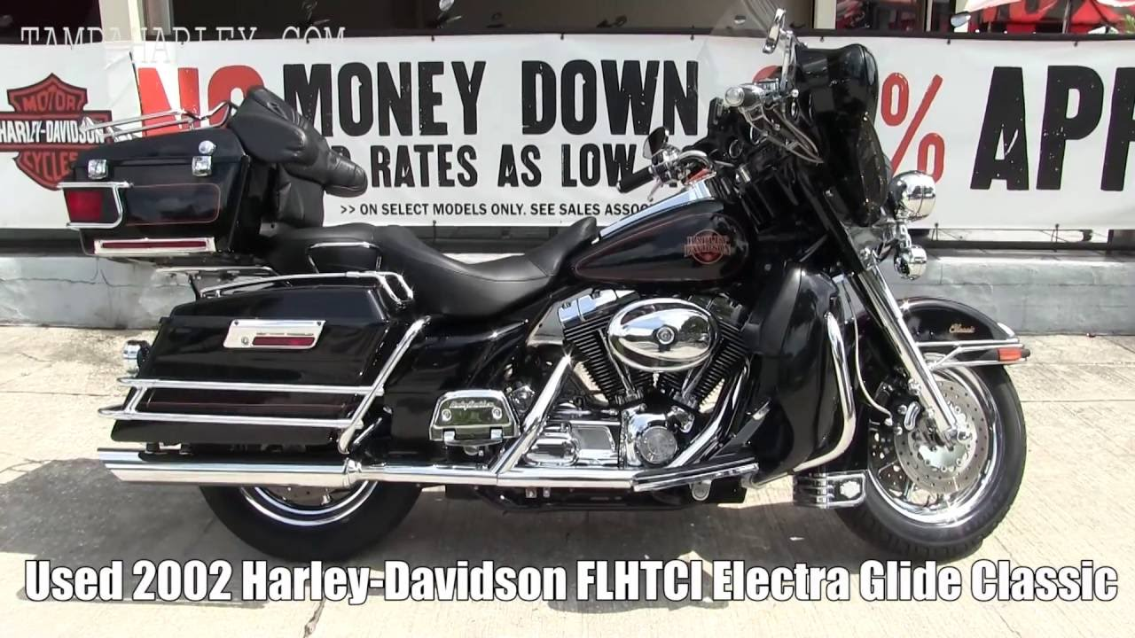 Used 2002 Harley Davidson Electra Glide Classic For Sale