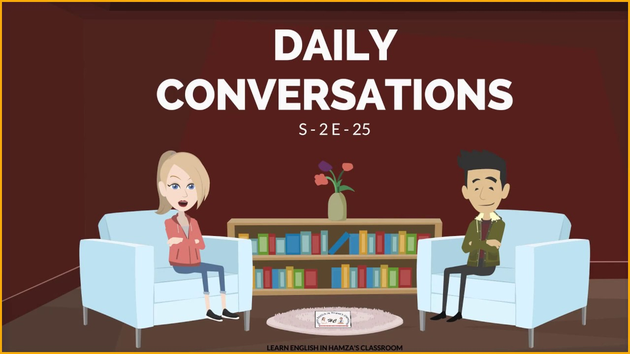 daily english conversation text Learn how to greeting someone in english with free english lessons on greetings and general things.