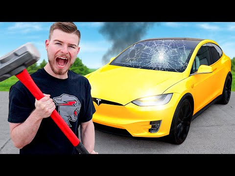 Would You Destroy Your Car For $10,000?