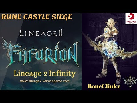 Lineage 2 Infinity RUNE CASTLE SIEGE 09.29.19 Imperial VS Almighty - Yull Moonlight Sentinel PoV