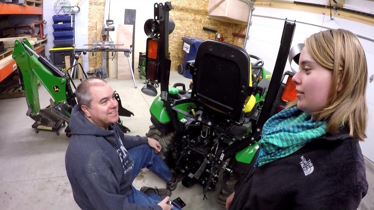 John Deere R Heavy Hitch Receiver Drawbar Install