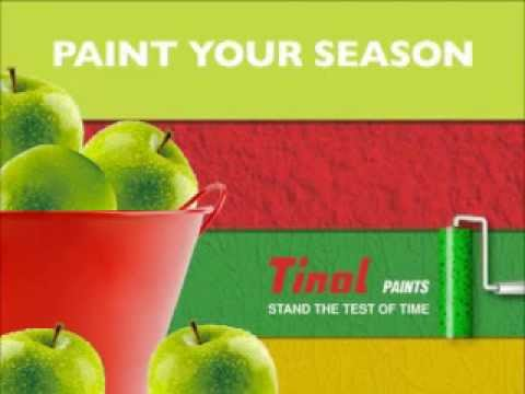 Tinol Paints TV Commercial Apples 2009