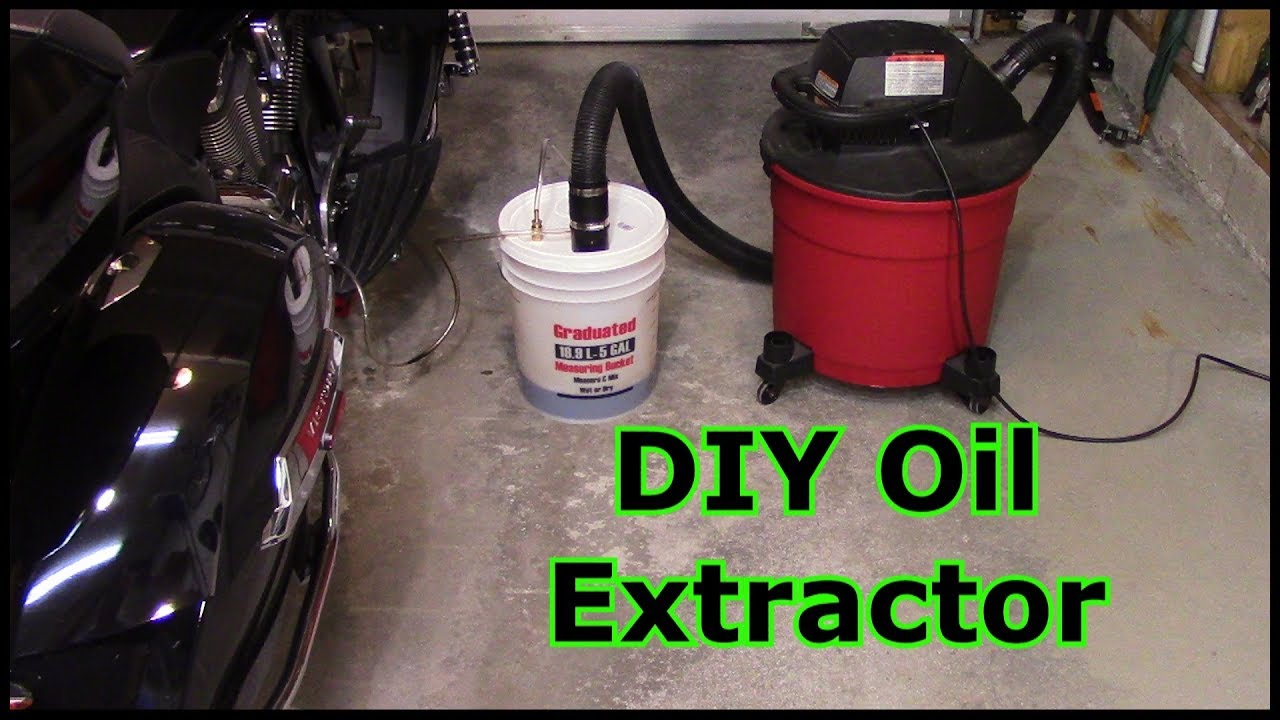 Diy oil extractor youtube for How is motor oil made
