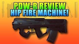 Battlefield 4 PDW-R Hip Fire Machine (Magpul PDR)