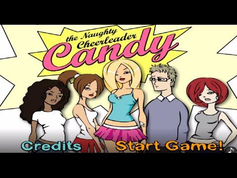 Candy the Naughty Cheerleader (Naughty Game Walkthrough) *** Naughty Addicting Games ***