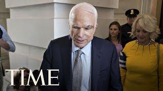John McCain Returns To Senate Floor Days After Brain Surgery, Will Not Support GOP Bill | TIME