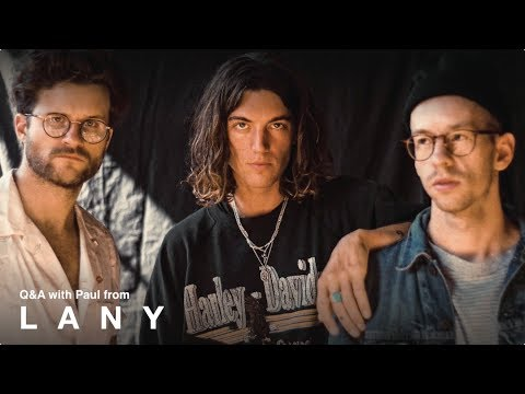 Exclusive Q&A with Paul from LANY