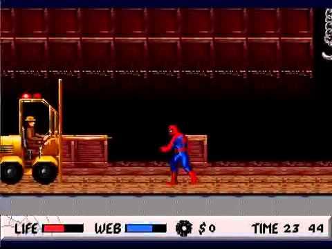 tpgr spiderman vs the kingpin genesismega drive