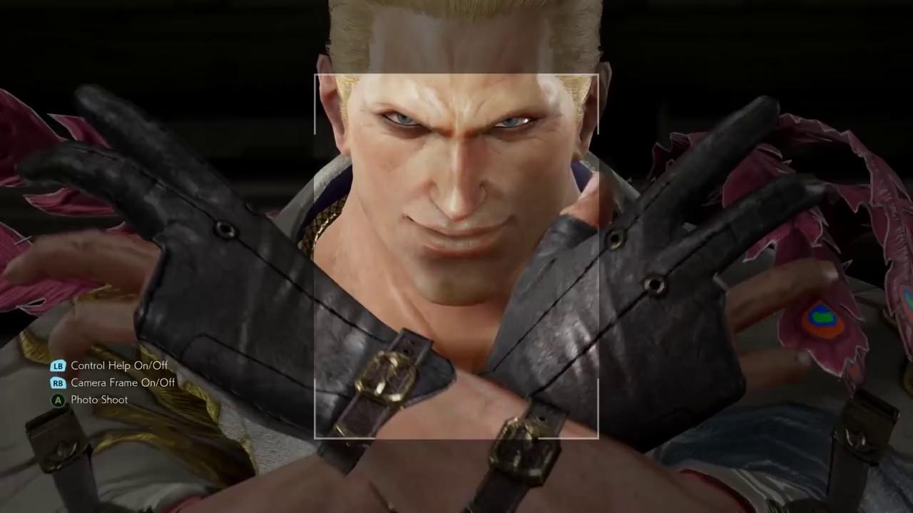 Tekken 7 Geese Howard Customization Fatal Fury Snk Hd 60fps Youtube