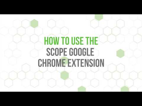 Learn How To Use Scope Google Chrome Extension For Amazon Keyword Research