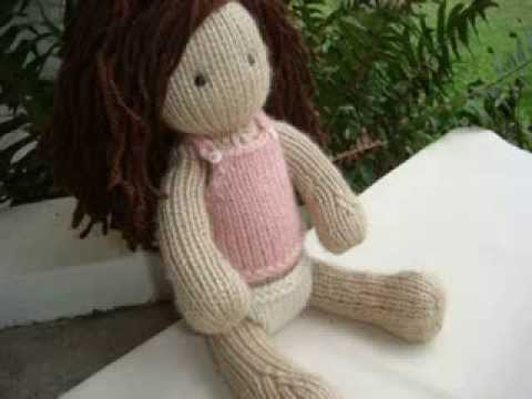 Knit Baby Doll Patterns Youtube