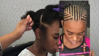 ♡ TnC -67 ♡ Highly Requested Style Tutorial - Pyramid Tribal Braids