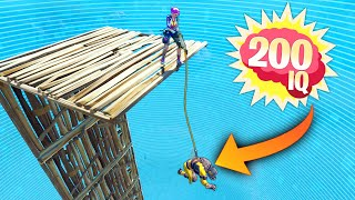 200 IQ HARPOON TRICK!! - Fortnite Funny and Daily Best Moments Ep. 1417