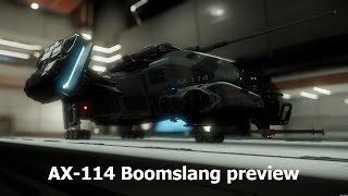 Star Citizen AX-114 Boomslang preview