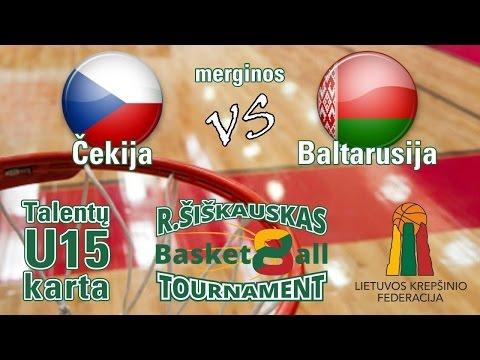 U15 Ramūnas Šiškauskas Cup: Czech Republic vs Belarus (girls)