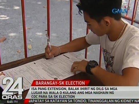 Isa pang extension, balak ihirit ng DILG sa mga lugar na wala o kulang ang mga naghain ng COC