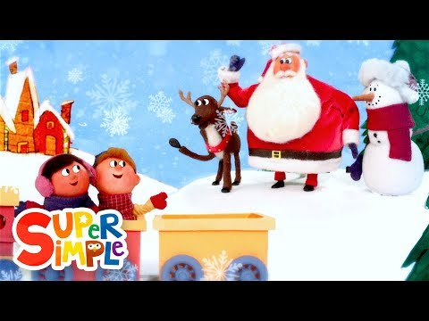 Goodbye, Snowman   Christmas Song for Kids   Super Simple Songs