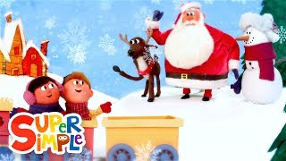 Goodbye, Snowman | Christmas Song for Kids | Super Simple Songs