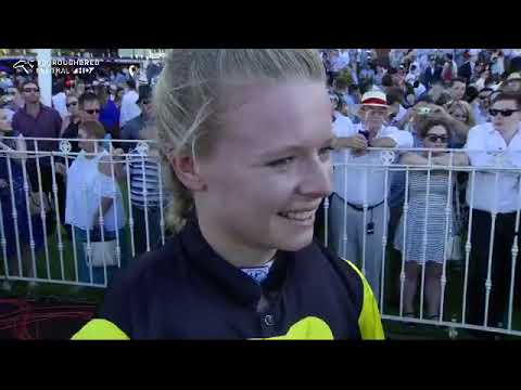 Lucy Warwick post Material Man Perth Cup win