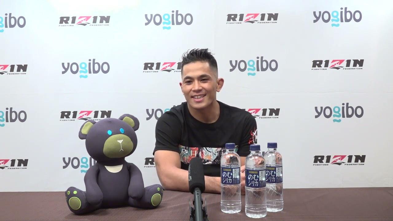 "Yogibo presents RIZIN.29 アラン""ヒロ""ヤマニハ 試合前インタビュー"
