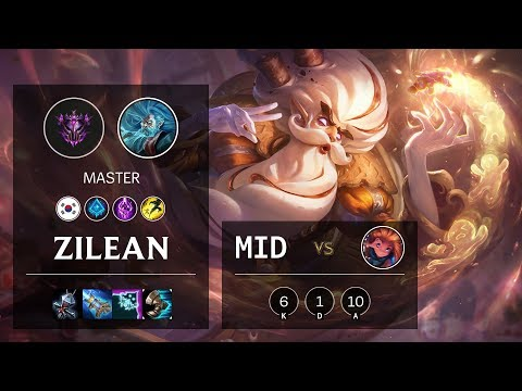Zilean Mid vs Zoe - KR Master Patch 10.4