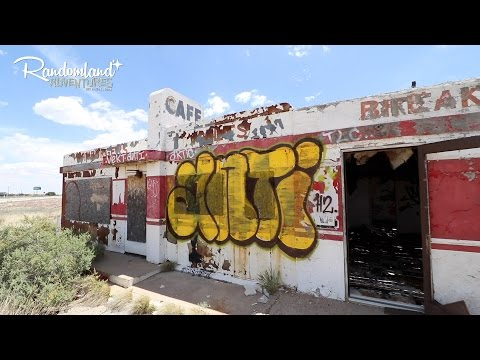 Finding the Route 66 Death Cave! Flagstaff to New Mexico!