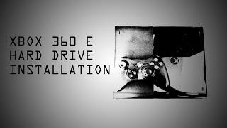 Xbox 360 Hard Drive Installation