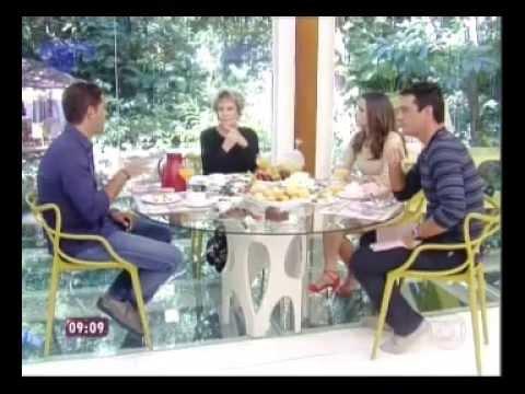 Ana Maria Braga entrevista Doda Miranda, Rodrigo Lombardi e Nanda Costa - Parte 1