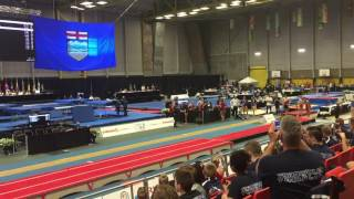 Michael Chaves 2016 National Championships Edmonton Alberta 1st Run
