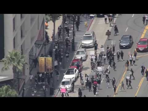 Watch Live: Protest Marches In Hollywood | NBCLA