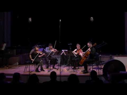 Momenta Quartet performs Morphic Resonances composed by Adam Rudolph