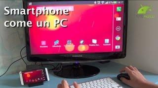 Trasformare uno Smartphone Android in un PC da TuttoAndroid.net