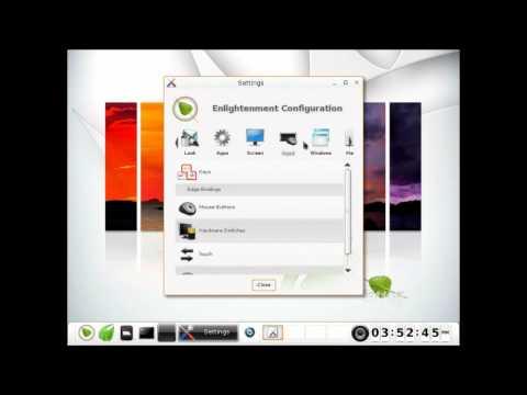 Bodhi Linux 1.4 - Demo