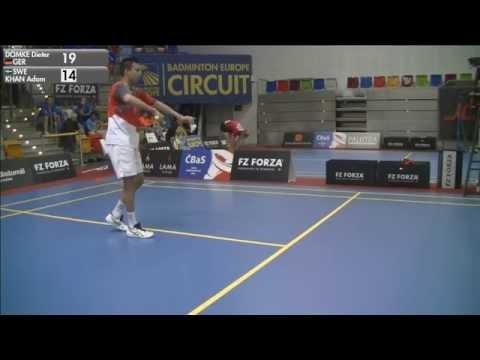 Dieter Domke vs Adam Khan (MS, Qualifying) - 2015 Czech International