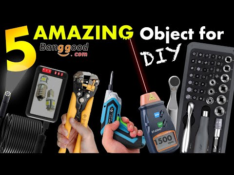5 AMAZING object for DIY from Banggood