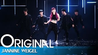Jannine Weigel - FINISH LINE (Dance version)