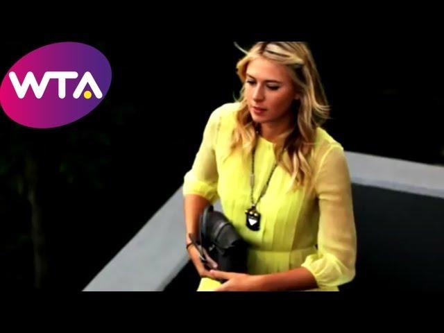 Maria Sharapova, Caroline Wozniacki, Petra Kvitova & Tennis Stars get Makeovers in Istanbul | WTA