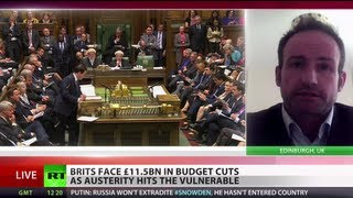 Phoney Robin Hood: 'UK austerity diverts money from poor to rich'