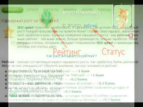 Статусы и рейтинг аккаунта seosprint net