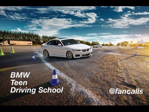 teen training Bmw driver