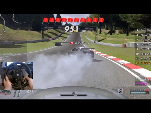 Gran Turismo 6 GoPro - Welcome Back !! Circuit/Drifting Online - G35