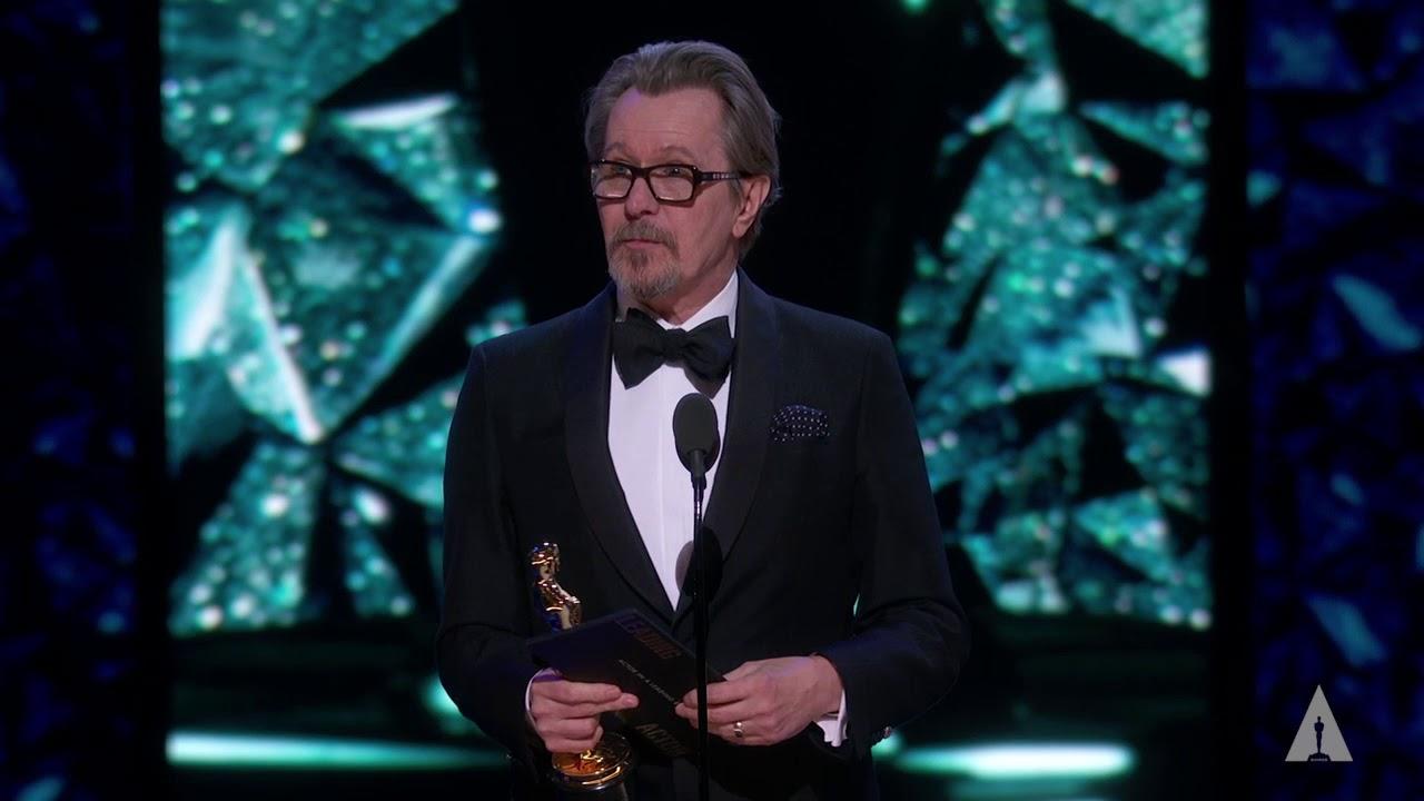Gary Oldman Wins Best Actor Oscars